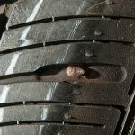 Tyre related accident