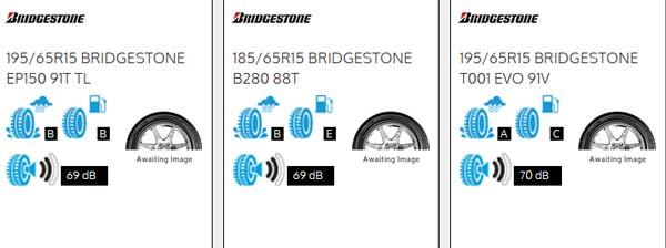 BK tyres - eu labels