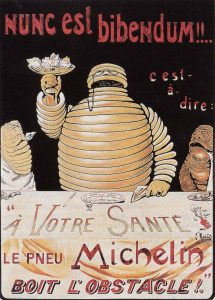 Michelin Man poster